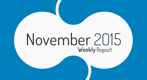 Weekly Income Report: November 2015