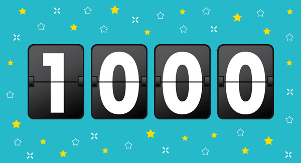 1000 WordPress Projects Completed